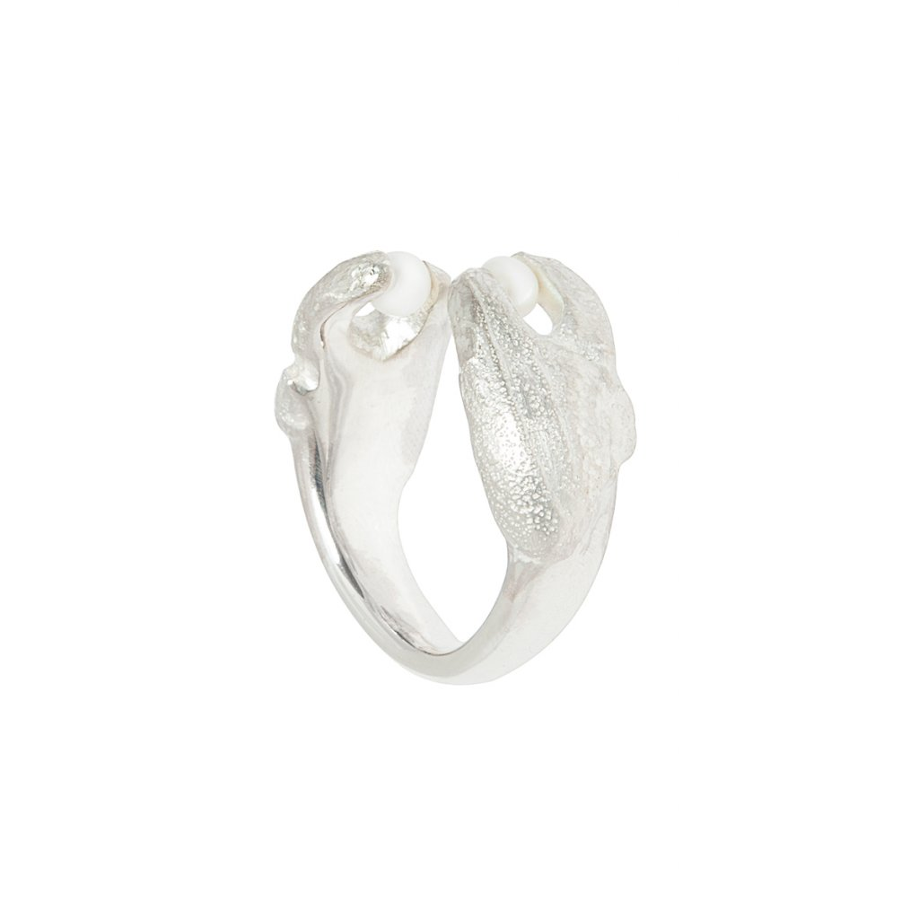 Claw ring - silver