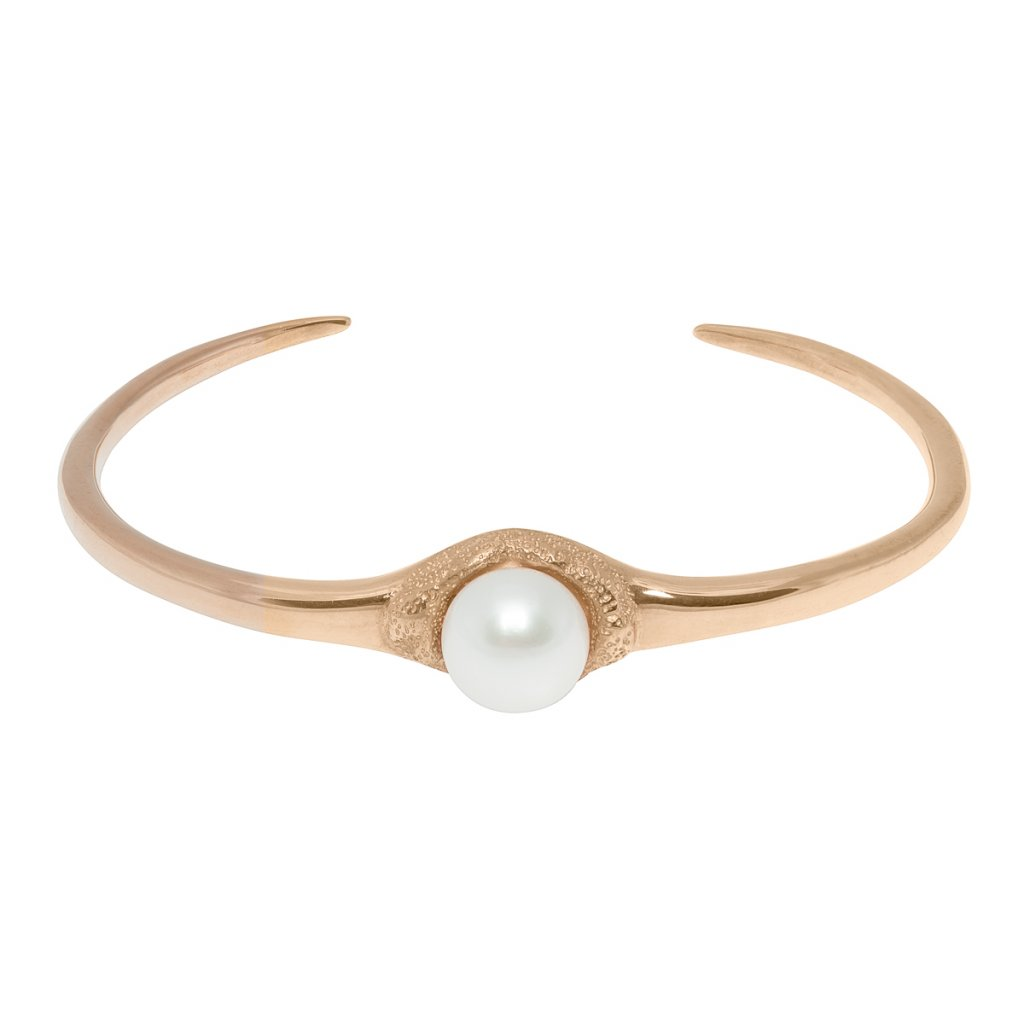 Fang bracelet - gold-plated silver