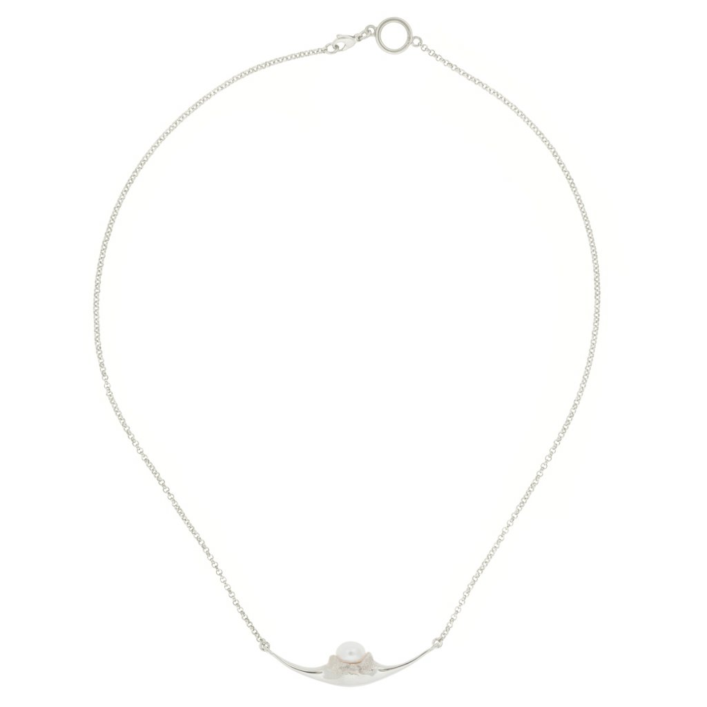 Fang necklace - silver