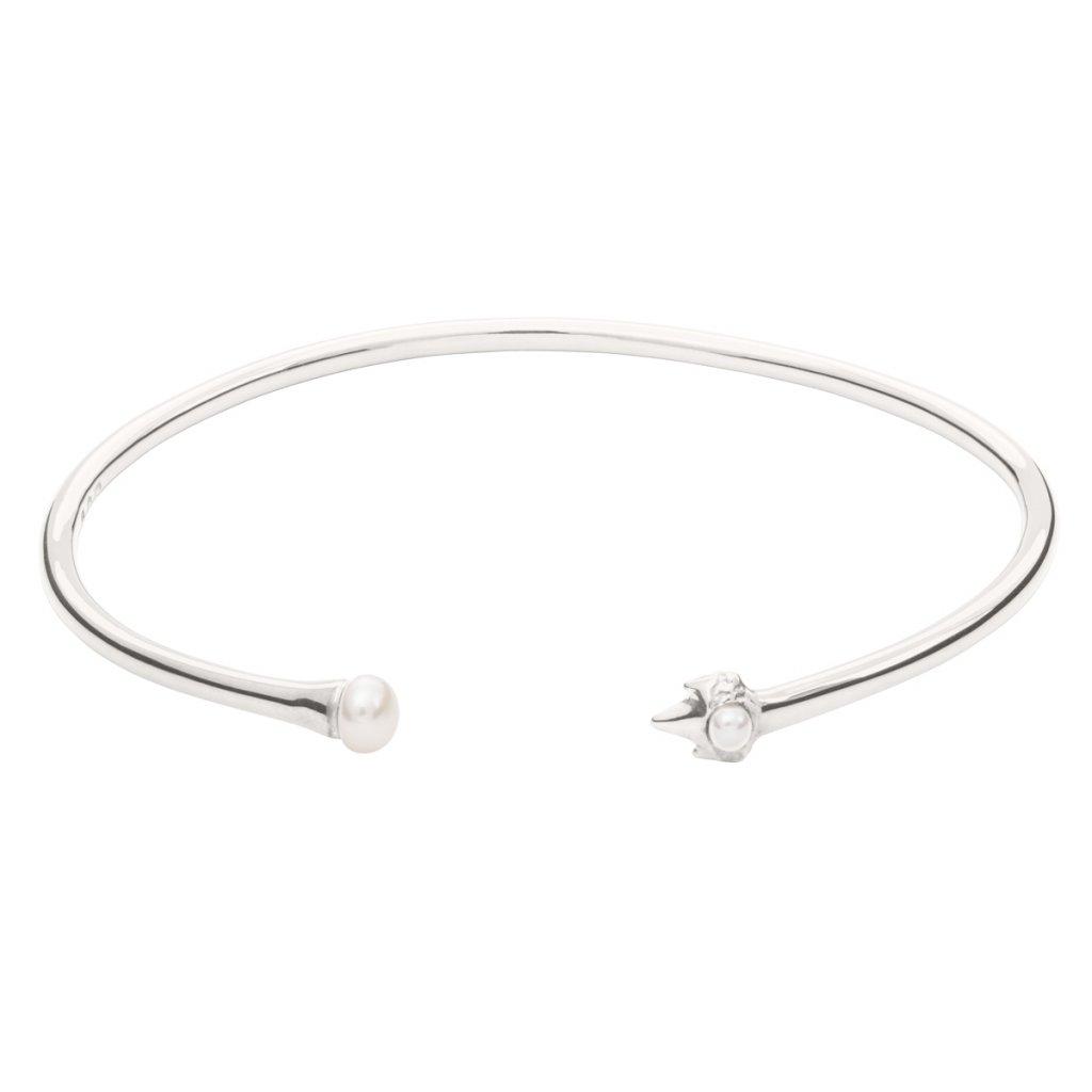 Petite A bracelet - silver