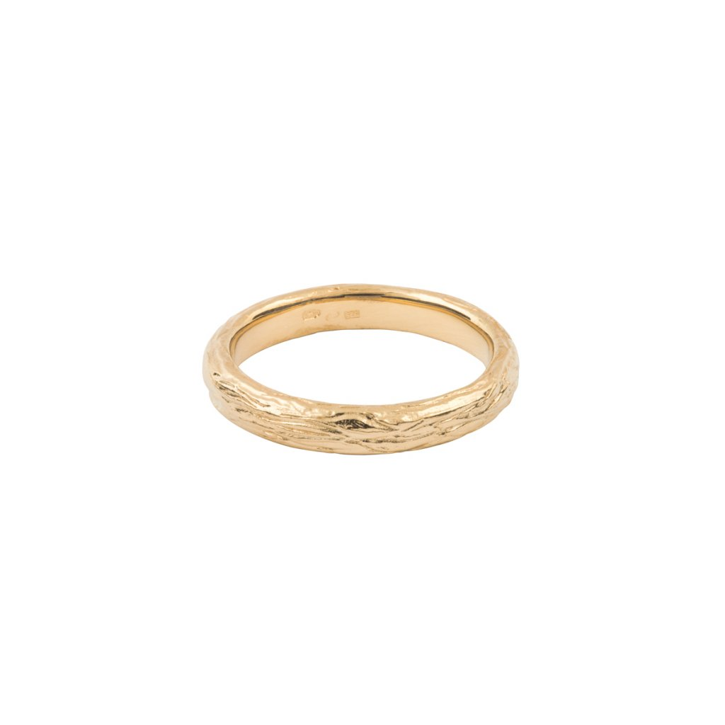 Ást ring - 14kt yellow gold