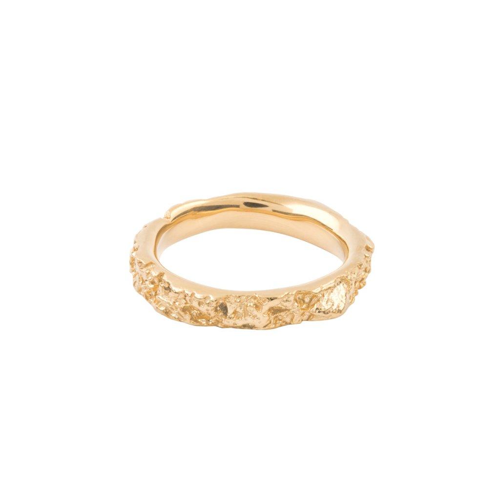 Agapi ring - 14kt yellow gold