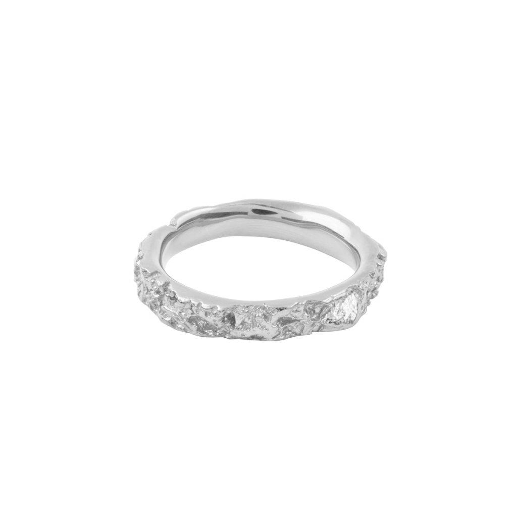 Agapi ring - 14kt white gold
