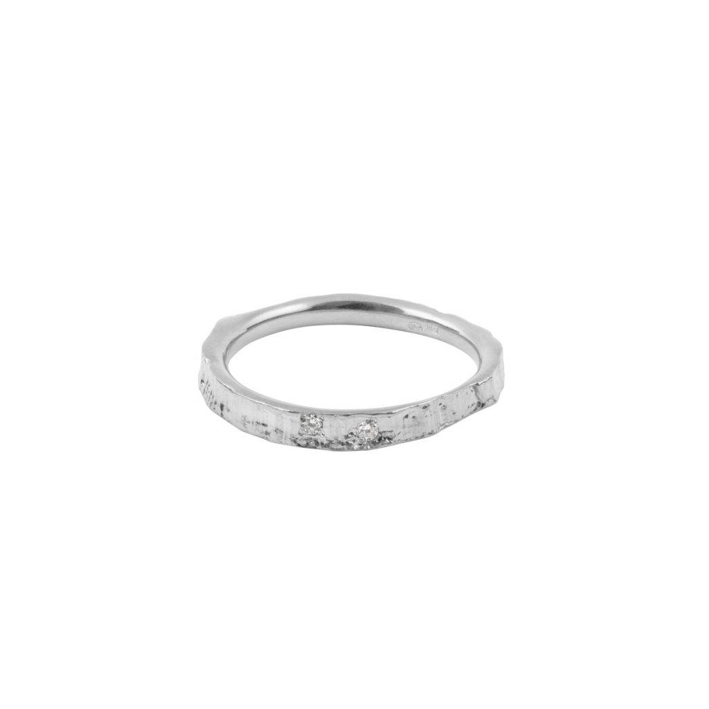 Amuri ring brilliant - 14kt white gold