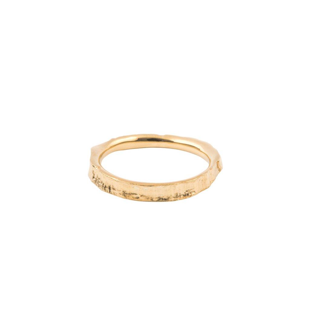 Amuri ring - 14kt yellow gold