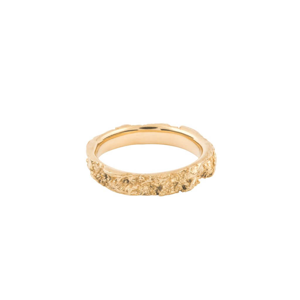Amour ring - 14kt yellow gold