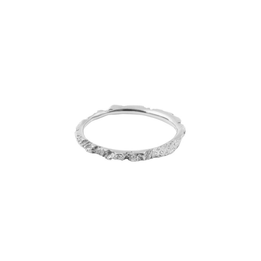 Alskar ring - 14kt white gold
