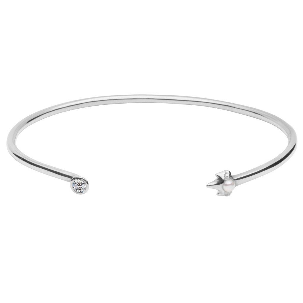 Peite A bracelet brilliant - 14 kt white gold