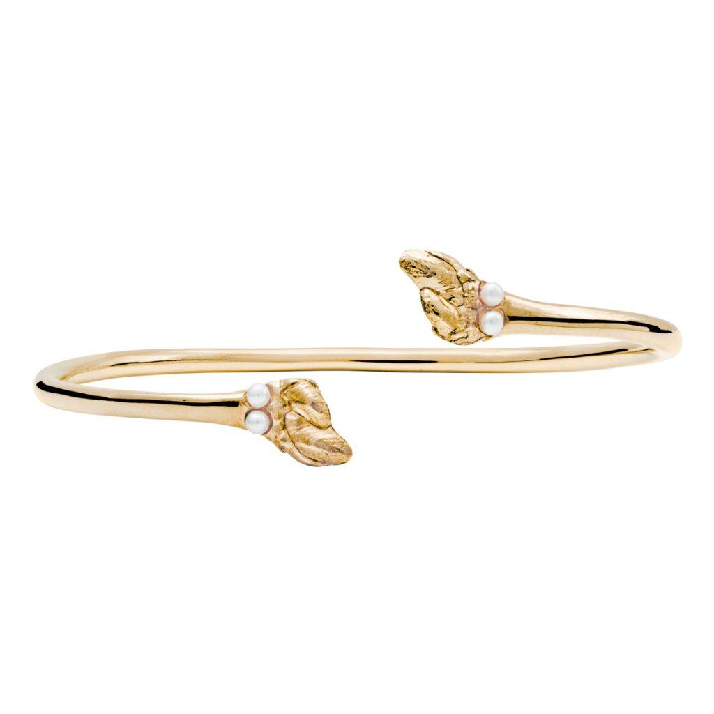 Maira multipearl bracelet - 14kt yellow gold