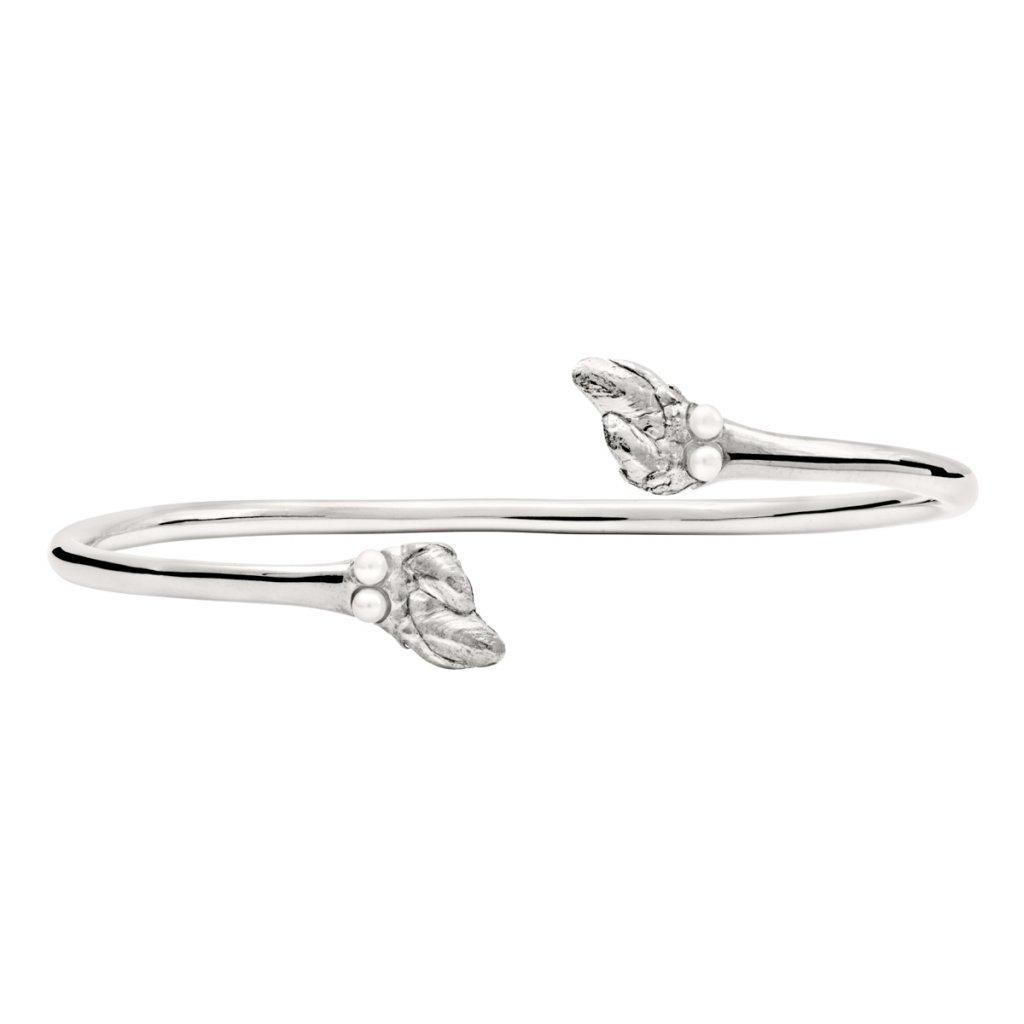 Maira multipearl bracelet - silver