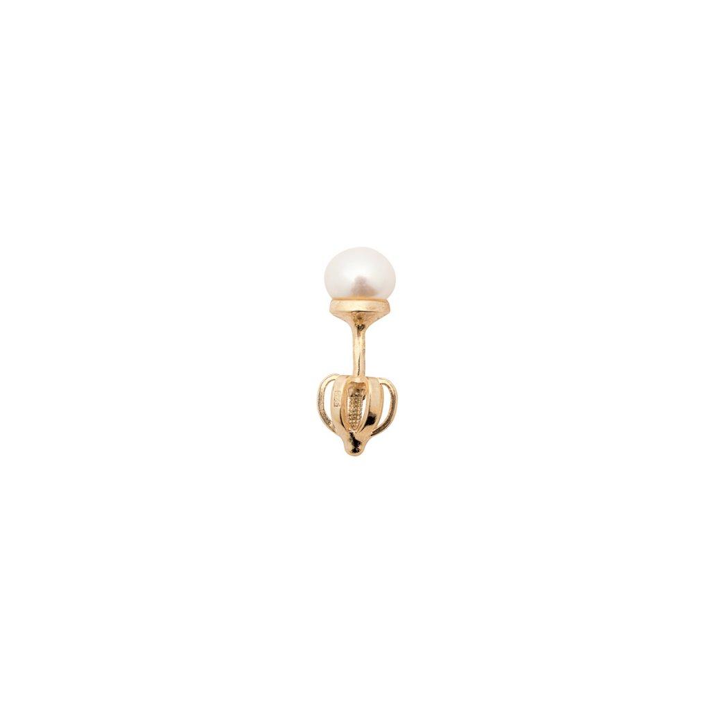 Pecka mini - gold-plated silver
