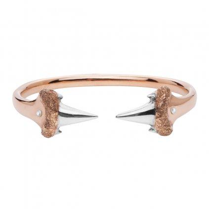 Blacktip bracelet-gold/silver