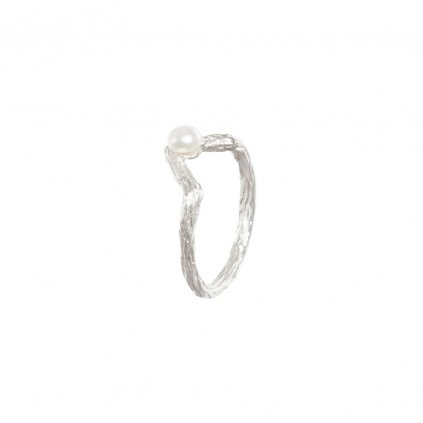 Small tip ring-silver