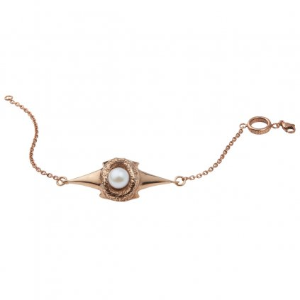 Blacktip chain bracelet - gold-plated silver
