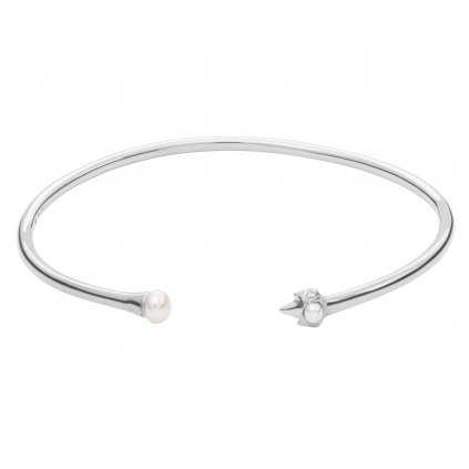 Petite A bracelet - 14kt white Gold