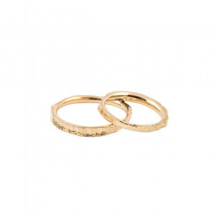 Amuri wedding rings - 14kt yellow gold
