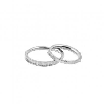 Amuri wedding rings - 14kt white gold