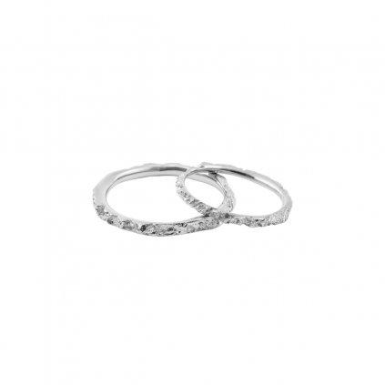 Alskar wedding rings - 14kt white gold