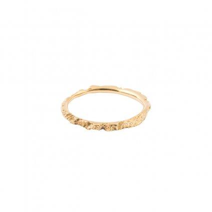 Alskar ring - 14kt yellow gold