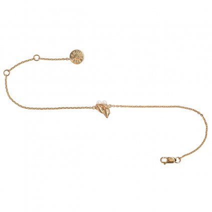 Ava chain bracelet - gold-plated silver