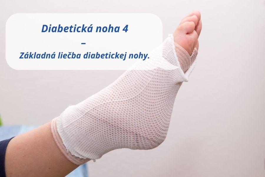 Základná liečba diabetickej nohy