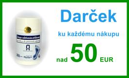 Darček pe nákupy nad 50 EUR
