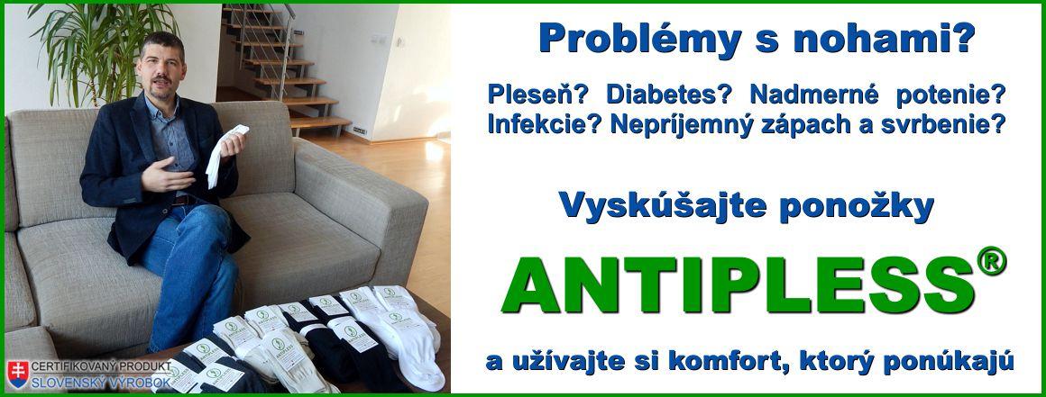 Ponožky ANTIPLESS - ponožky ktoré pomáhajú v boji proti plesni a mykóze