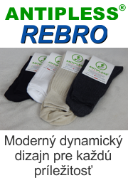 Ponožky Antipless Rebro