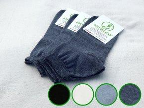 ponozky antipless short 3 farby