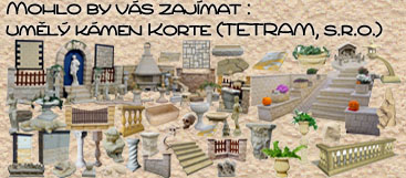 Umělý kámen Korte, TETRAM s.r.o.