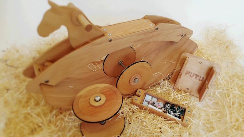 Výroba Futu houpacího koně