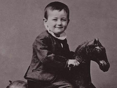 Historie houpacího koně