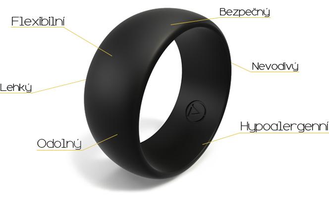 Vlastnosti silikonových prstenů