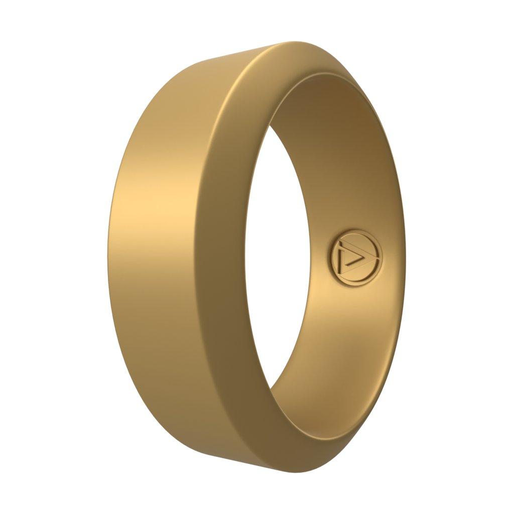 Gold | Silikonový prsten