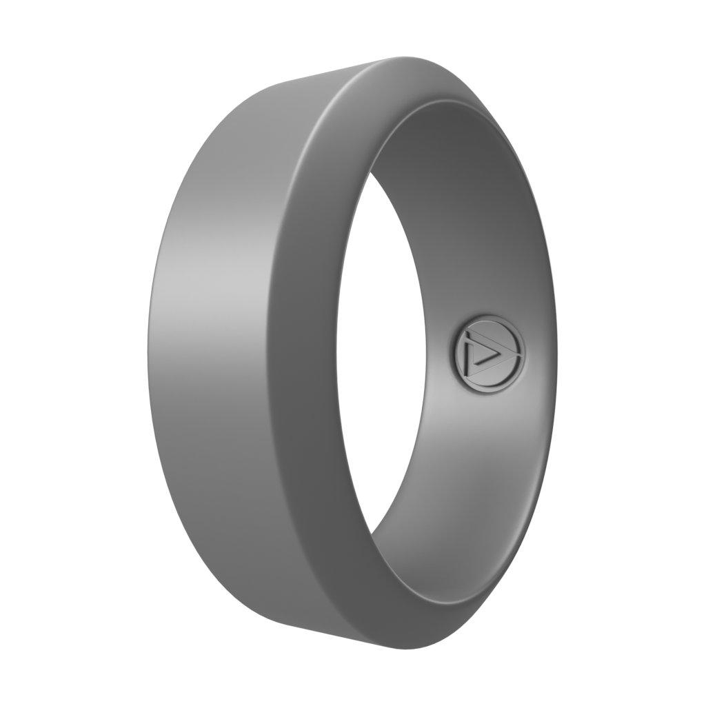 Silver | Silikonový prsten