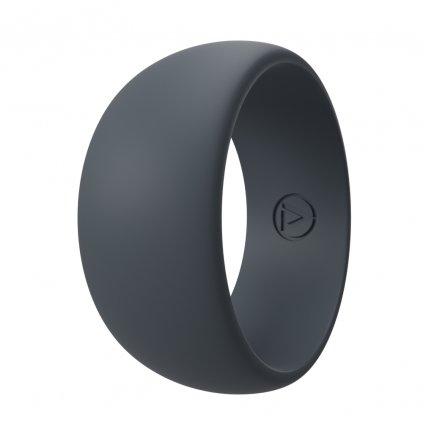 Charcoal | Silikonový prsten