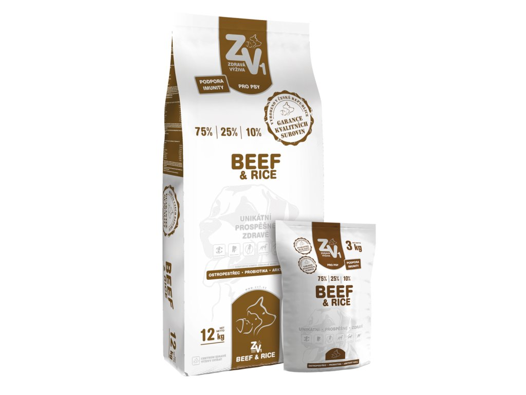 CZV02 10 BeefNRice 12 3kg Group webpreview