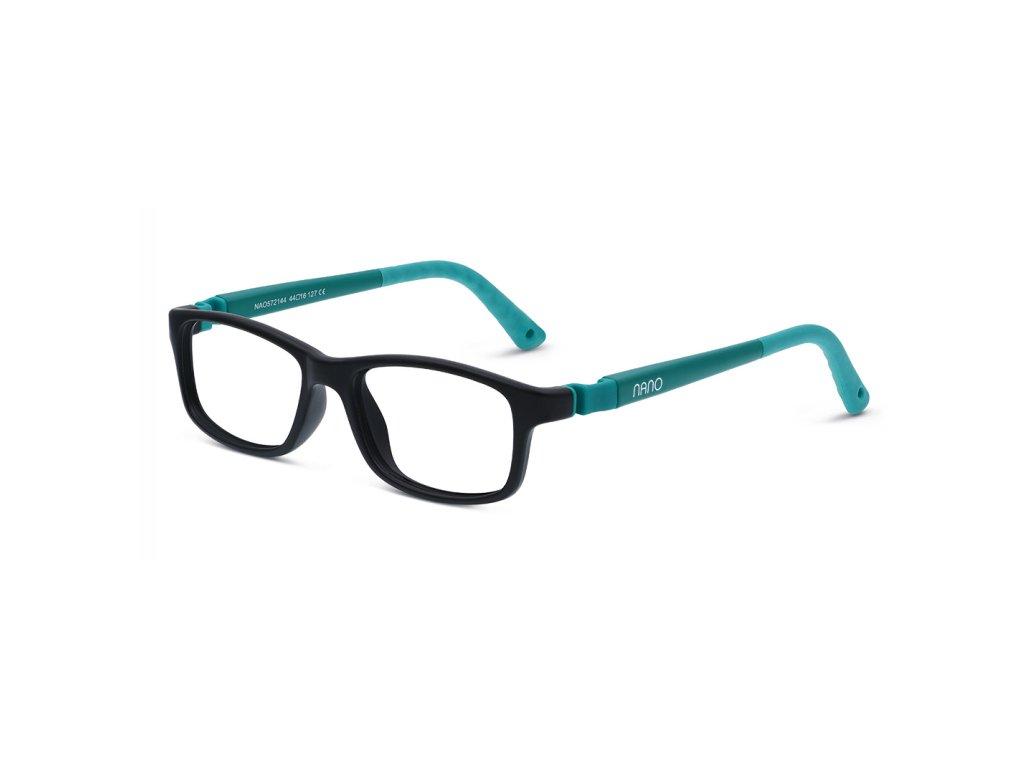 NANO - 572144 - CREW - BLACK / GREEN