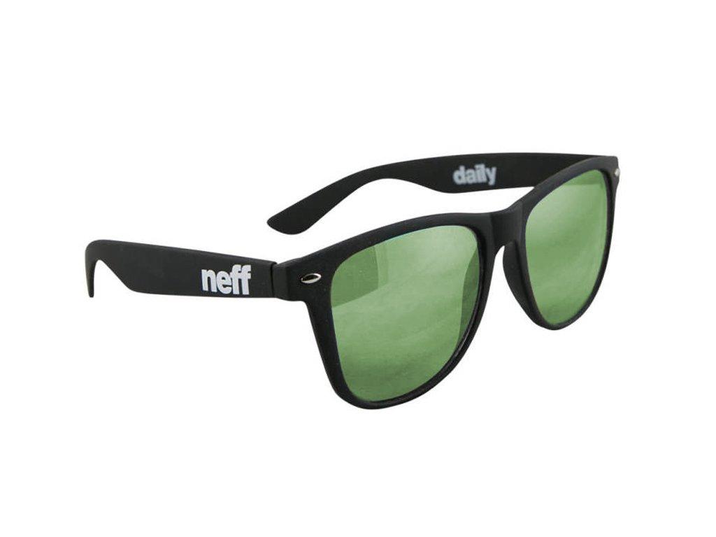 neff daily matte black violet green mirror