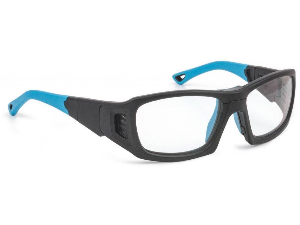 LEADER - PRO X - L - MATTE BLACK / BLUE