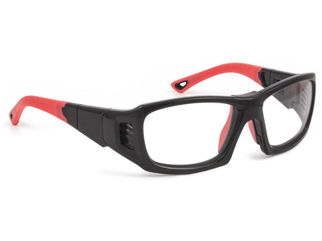 LEADER - PRO X - L - SHINY BLACK / RED