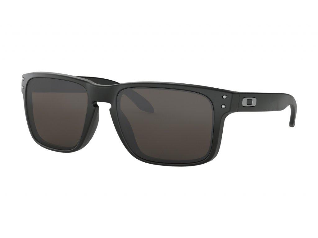 OO9102 01 holbrook matte black warm grey