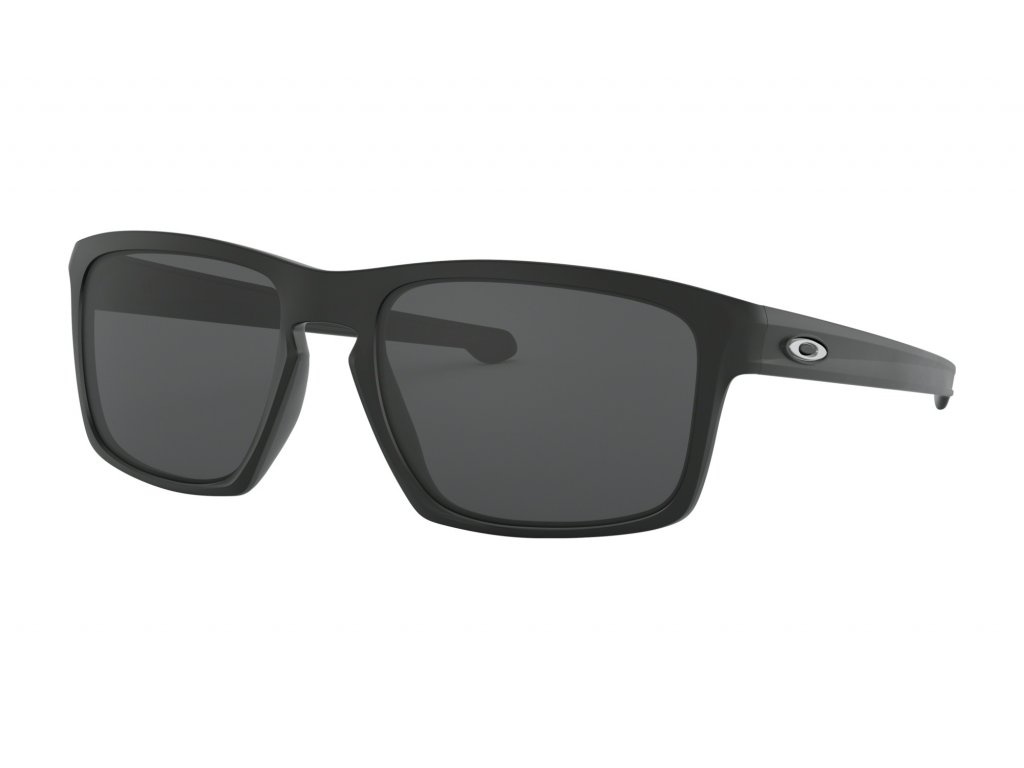 OO9262 01 sliver matte black grey