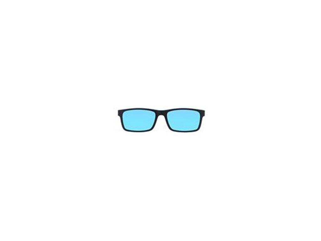 POINT 6069 C2 CLIP BROWN POLARIZED BLUE MIRROR