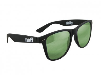 neff daily matte black violet green mirror