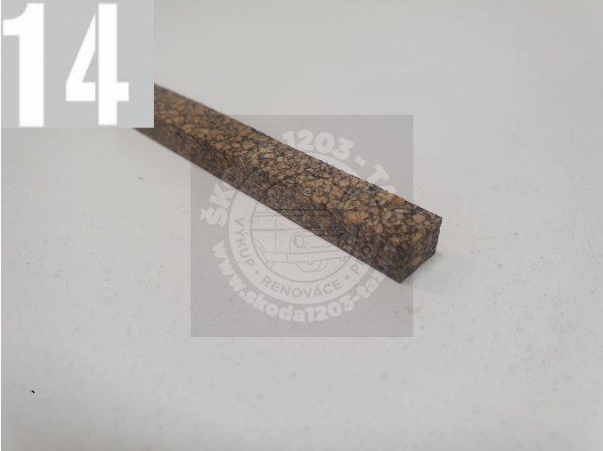 Těsnění 3. ložiska (korek)