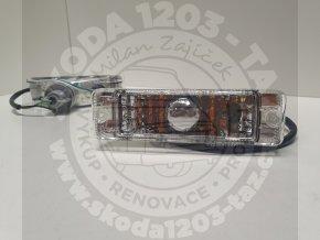 Model Z20 - přední blikače