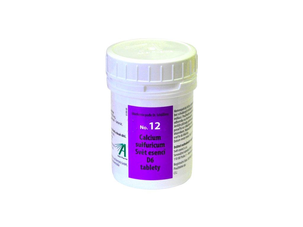 No.12 Calcium sulfuricum