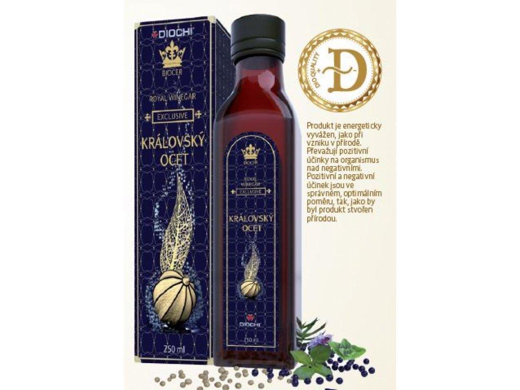 Biocer Královský ocet 250ml