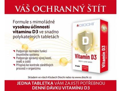 Vitamín D3 - novinka